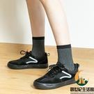 五指襪女高腰純棉分腳趾頭襪子素色中筒堆堆松口孕婦襪【創世紀生活館】
