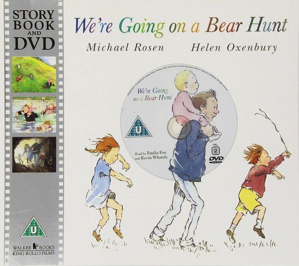 We're Going On A Bear Hunt 我們要去抓狗熊 DVD平裝故事繪本
