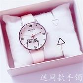 大兒童手表女孩防水初中小學生中學可愛軟妹果凍色小清新韓版簡約