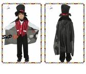 萬聖節服裝 萬圣節 兒童演出服裝 COSPLAY 表演衣服 披風 法師服飾