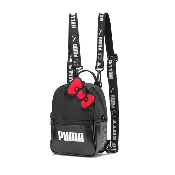 Puma Hello Kitty 黑色 後背包 肩背包 側背包 小包包 雙肩包 背包 07718802