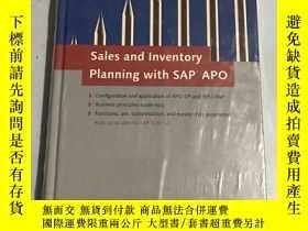 二手書博民逛書店sales罕見and inventory planning with sap apo(未開封)Y20850