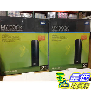 [COSCO代購] WD 3.5 EXTERNAL HARD DRIVE 2TB USB3.0 3.5 外接硬盤 C_95578 $3400