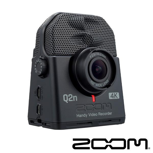ZOOM Q2N-4K 廣角4K 隨身直播攝影機 樂團表演 排練 高畫質 高音質 直播 正成公司貨