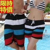 情侶款海灘褲(單件)-防水衝浪簡單大方配色精緻拼接星星男女沙灘褲66z14【時尚巴黎】