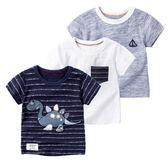男童短袖t恤寶寶新款夏裝男中小童半袖體恤竹節棉童裝兒童短袖T恤