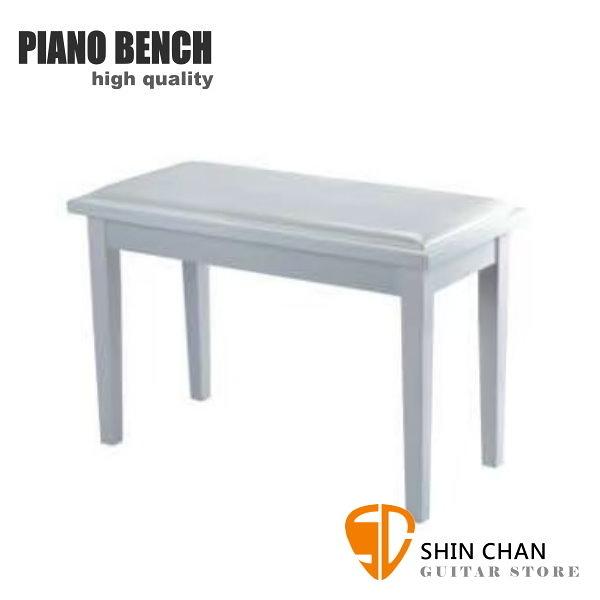 PIANO BENCH 雙人鋼琴椅 PJ001 白色 電鋼琴椅/電子琴椅/piano琴椅/Keyboard椅