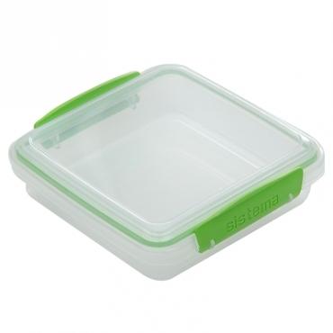 Sistema外出三明治保鮮盒450ml (混色)