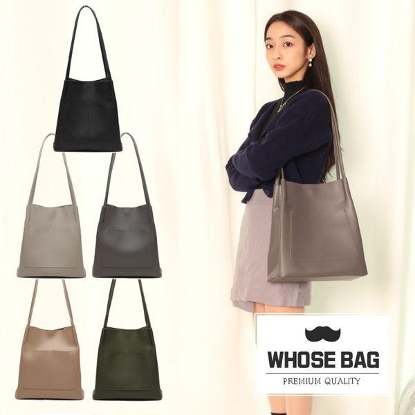 【WHOSE BAG】韓國嚴選simple pocket肩背包 NO.LM220