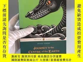 二手書博民逛書店Journey罕見to the Centre of the Earth (Puffin Classics) 地心歷
