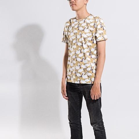 黑面琵鷺 圓領衫