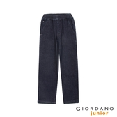 【GIORDANO】童裝鬆緊腰丹寧牛仔褲-78 原藍