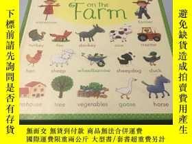 二手書博民逛書店My罕見First Word Book on the FarmY
