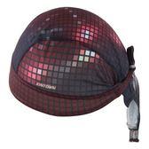 自行車頭巾 吸汗-閃耀酒紅格子設計男女單車運動頭巾73fo12【時尚巴黎】