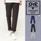 鬆緊麻紗長褲-輕鬆舒適休閒款式《9996218》黑色.藍色.淺灰色共3色【現貨+預購】『SMR』