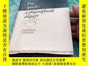 二手書博民逛書店Free罕見speech : a philosophical enquiryY369690 FREDERICK