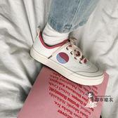小白鞋 帆布鞋女2019秋款學生韓版潮流低筒百搭鞋子新款復古港味小白鞋 4色35-40