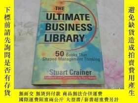 二手書博民逛書店The罕見Ultimate Business Library 大