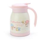 【震撼精品百貨】Little Twin Stars KiKi&LaLa_雙子星小天使~三麗鷗不銹鋼壺(600ML)-下午茶#49652
