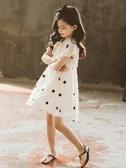 童裝女童連身裙洋裝夏裝新款超洋氣兒童女裝夏款夏季大童女孩裙子