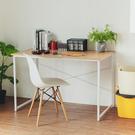 書桌 電腦桌 辦公桌 電腦椅【I0110】極致美學工作桌(原木桌搭白腳)ac MIT台灣製 收納專科