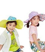 全館83折兒童帽子防曬夏季寶寶女童太陽遮陽帽男童涼帽漁夫帽大帽檐薄款潮
