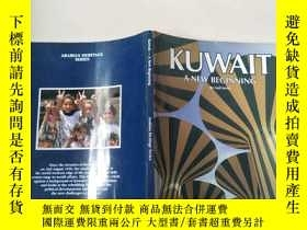 二手書博民逛書店KUWAIT--罕見A NEW BEGINNING ARABIA
