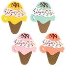 小小家 BabyTalk 矽膠固齒玩具-冰淇淋(顏色隨機出貨)[衛立兒生活館]