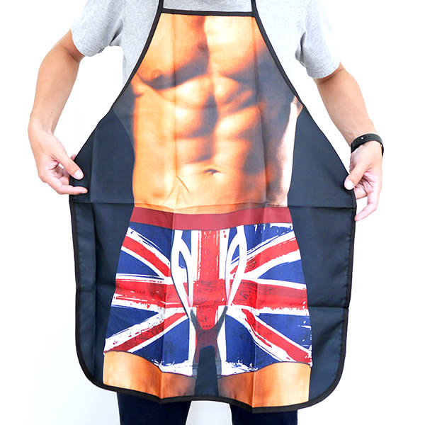 【BlueCat】英國國旗內褲猛男搞怪圍裙