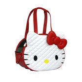 Hello Kitty 凱蒂貓 正版授權 卡翠娜寵物包 外出籠 紅 《Life Beauty》