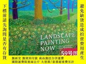 二手書博民逛書店英文原版罕見Landscape Painting Now 當代風景畫:從流行抽象到新浪漫主義 Barry Schw