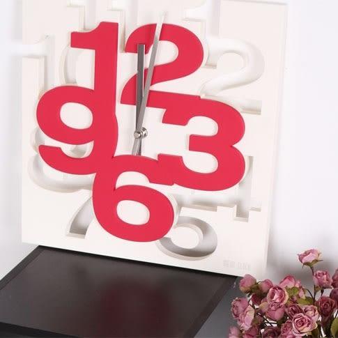 COCA可卡立體造型時鐘掛鐘/三色(CM2/1106)【DD House】