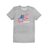 Nike 短袖T恤 W Wrestling Tee 灰 紅 藍 女款 短T 美國國旗 摔角 運動休閒 【ACS】 561423091W-RUS