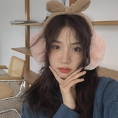 耳罩 馨幫幫 時尚耳套冬季新款韓版騎行防凍毛絨兔耳朵保暖耳罩女可愛【快速出貨八折下殺】