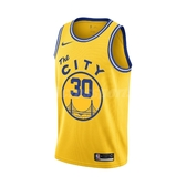 Nike 球衣 Stephen Curry Classic Edition NBA Swingman Jersey 黃 藍 男款 金州勇士隊 【PUMP306】 BQ8109-729