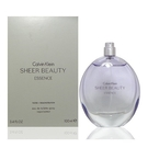 Calvin Klein SHEER BEAUTY ESSENCE 純情雅緻 女性淡香水 100ml TESTER【七三七香水精品坊】