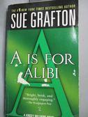 【書寶二手書T5/原文小說_HIO】A Is for Alibi_Grafton, Sue