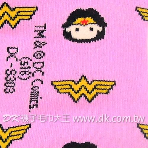 正義聯盟 神力女超人成人船襪 DC-S303 ~DK襪子毛巾大王