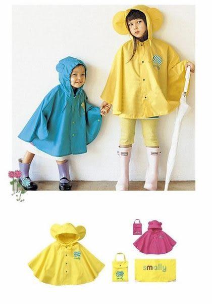 ☆瑋娗童裝婦幼館☆【R-048】立體耳朵可愛動物尼龍披風/斗蓬式造型雨衣(附收納袋)