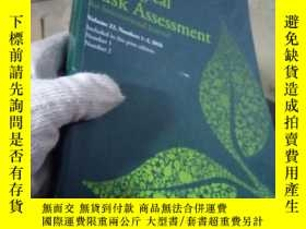 二手書博民逛書店Human罕見and Ecological Risk Asses