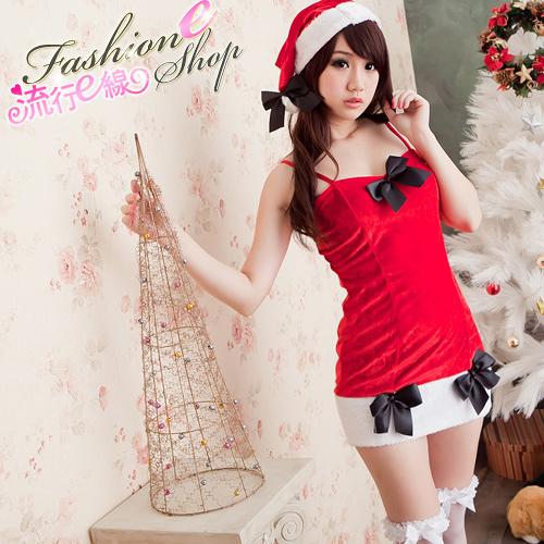 角色扮演聖誕裝~熱銷款洋裝式聖誕裝xmas派對服聖誕服 跨年派對服*流行E線F015
