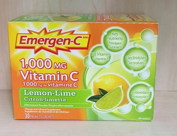 Emergen-C 高效能量礦物質C「Lemon-Lime檸檬」30包入