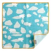【日本製】【+ima】今治毛巾 Imabari Towel 禮品組  手帕 北極熊(一組:10個) SD-2142-10 - 日本製
