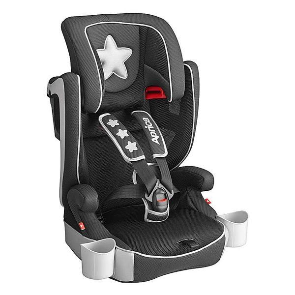 Aprica愛普力卡 Air Groove AG SV 成長輔助汽車座椅 (銀彩星)