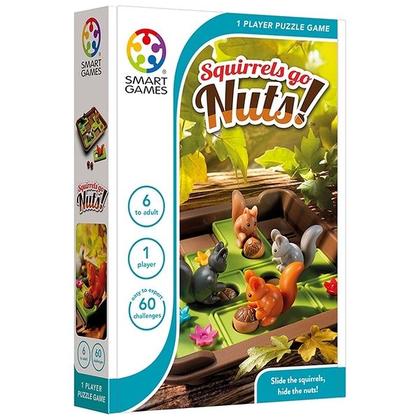 【比利時 SMART GAMES 桌遊】推推松鼠 ACT06382