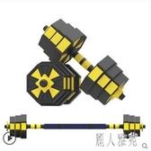 啞鈴男士健身家用一對可拆卸亞鈴杠鈴練臂肌器材套裝CC5288『麗人雅苑』