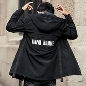 風衣INS春秋季外套男士秋裝2019年新款韓版潮流百搭潮牌風衣男 中長款 時尚新品