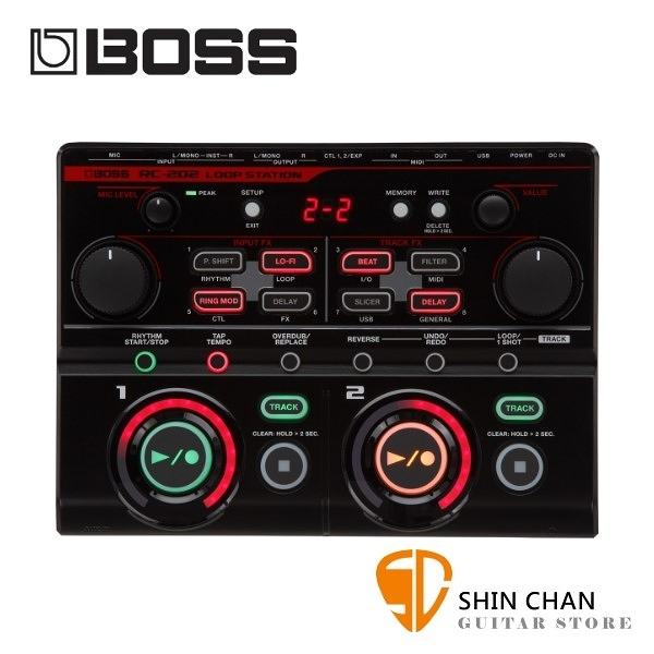 Boss RC-202 DJ循環樂句錄音工作站 Beat box口技必備【RC202/Loop Station】