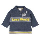 ~愛的世界~丹寧感鋪棉上衣1 4 歲 製 上著