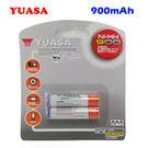 【YUASA】湯淺 四號 AAA 鎳氫充電電池 900mAh (2入)